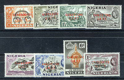 Cameroons (U.k.t.t.) 1960 Definitives Sg T1/8  Mnh