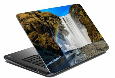 "Waterfall Nature Laptop Skin Laptop Skin Stickers Cover Decal Fits 14.1""-15.6"""
