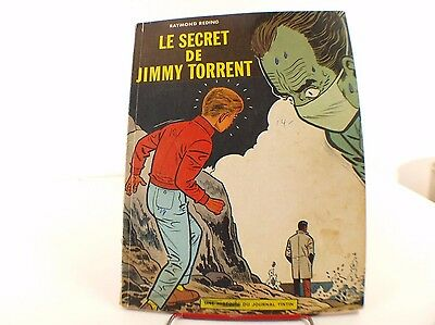 BD Jari Le secret de Jimmy Torrent Raymond Reding EO 1963 Journal Tintin Lombard
