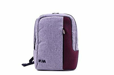 Zaino Organizzato Nava Traffic Small Grey/ruby Cod. 6844