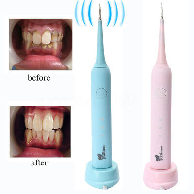 3 Modes Portable Electric Sonic Dental Scaler Calculus Remover Tooth Stains Tool