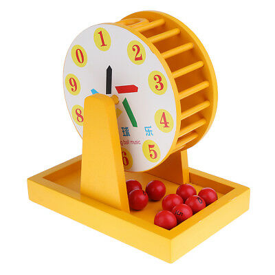 MagiDeal Wooden Toy Lucky Draw Toy Educational Development Toys Xmas Gifts