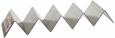 Compartment Stainless Steel Taco Shell Holder Tortilla Stand Rack Tray Holds New