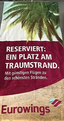 Eurowings Strandhandtuch Limited Edition