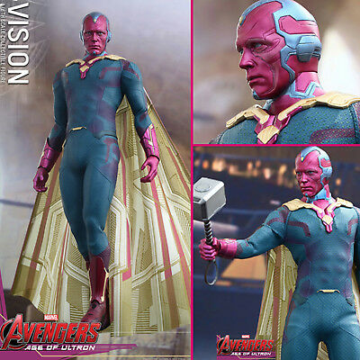 HOT TOYS Avengers 2 Age of Ultron Vision 1/6 Action Figure NEW MMS296