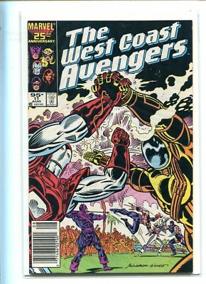West Coast Avengers #11 Hi Grade 9.0 Action Packed Cover Canadian Price Variant