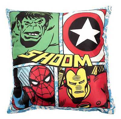 New Marvel Avengers Comics Super Soft Comfy Cushion Pillow Boys Kids Child Gift