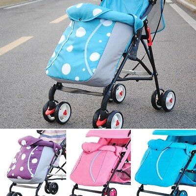 Baby Stroller Footmuff Outdoor Windproof Pushchair Pram Car Seat Warm Foot Cover