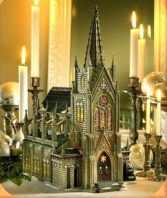Cathedral of St. Nicholas Dept 56 Christmas in the City 59248SE Church Village