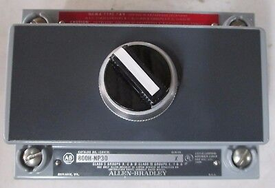 Allen-Bradley 800H-R2HX7 Series X Selector Switch Enclosure