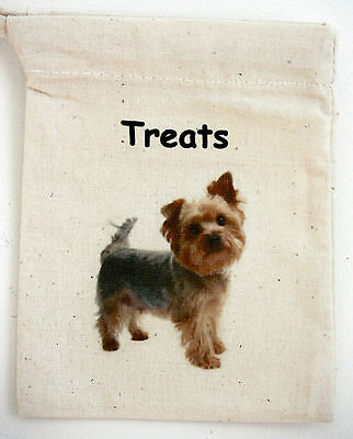 Dog Treat Bag, Yorkshire Terrier