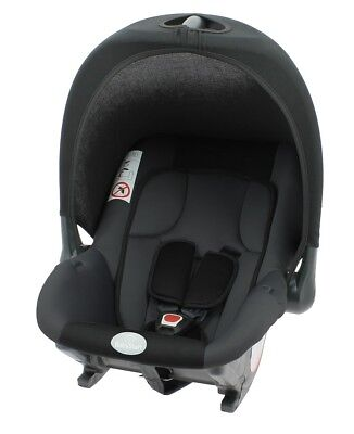 Babyride Infant Carrier Black Group 0+ suitable from Newborn to 12 months(0-13kg