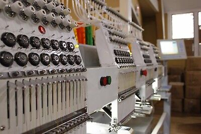Mesa CX1504 4-head Embroidery Machine
