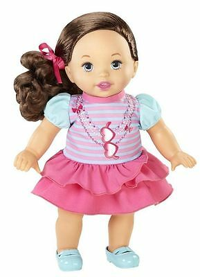 "Little Mommy Sweet As Me Uptown Sweetie Baby Doll- 14"" Tall"