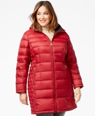 7bb9d133fb2fb MICHAEL Michael Kors women s Plus Size Packable Puffer Coat lightweight  jacket