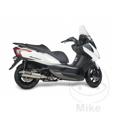 Yasuni Maxiscooter Exhaust Silencer Kymco Downtown 300 i 2011-2012