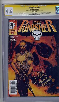 Punisher 1 CGC 9.6 Signed By Jon Bernthal