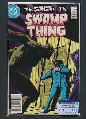 Dc Comics The Saga Of Swamp Thing #21 1984 Cbcs Raw Grade 9.0