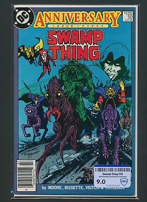 Dc Comics Swamp Thing #50 1986 Cbcs Raw Grade 9.0
