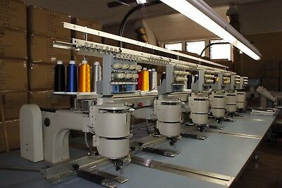 Barudan Profit 806T-YS 6-head, 7-needle industrial embroidery machine