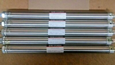 LOT of 5 - Pneumatic/Air Cylinders NCMC106-0800S old inventory w/ original box