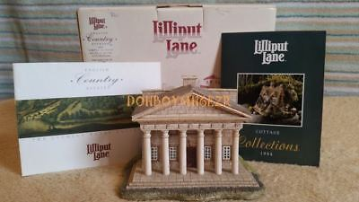 Lilliput Lane 1994 English Country Estates Temple of Piety Studley Royal Collect