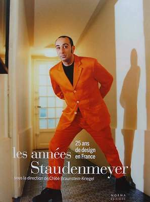 FRENCH BOOK : STAUDEMEYER - 25 years of design in France