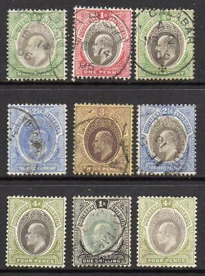 S. NIGERIA 1903-11  6 Stamps Used and Mint Good Sound Quality  No Hidden Faults