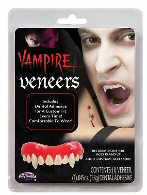 Halloween Vampire Fangs Dracula Teeth Theatrical Cosplay Costume Accessory FS