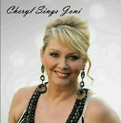 Cheryl Baker - Cheryl Sings Joni Album, Signed copy, Bucks Fizz, The Fizz