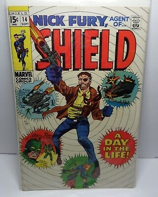 Nick Fury, Agent of SHIELD #14 Sep 1969, Marvel