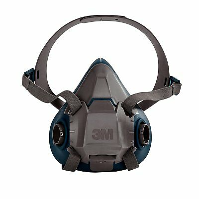 3M 49491 Rugged Comfort Half Facepiece Reusable Respirator 6503, Large