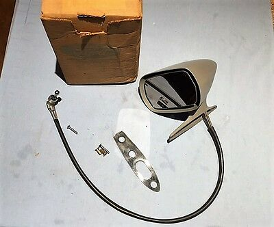 Nos 1971-72-73-74-75-76-77-78 Ford Mustang Ii-Pinto Remote Sport Mirror (Lh) Nos