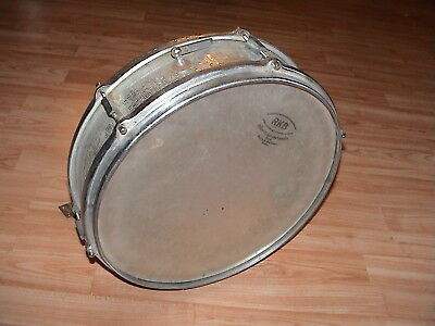 SNARE DRUM (VINTAGE) aprx.50 Jahre / years old RKB sehr selten 7 very rare looK