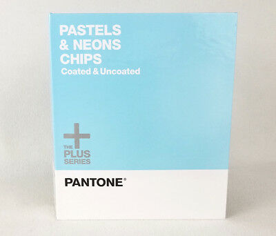 Pantone Pastels & Neons Chips Book, Coated & Uncoated, The Plus Series
