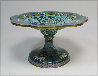 Small Chinese Cloisonne Tazza