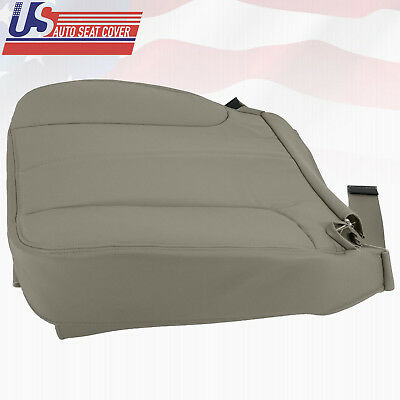2002 Dodge Ram 1500 SLT Leather Replacement Tan Seat Cover - Driver Bottom