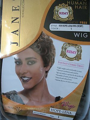Nwt Janet Collection H/h Hope-Lena Wig (#1 Black)