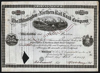 1877 The Wilmington and Northern Rail Road Company