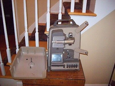 Keystone 110 movie Projector Vintage 1950-1955 8mm excellent & works GREAT ITEM