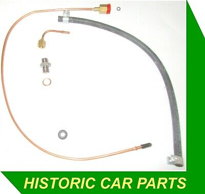 Oil Pressure Gauge PIPES & CONNECTORS for MG MIDGET Mk3 1275cc  1966-74