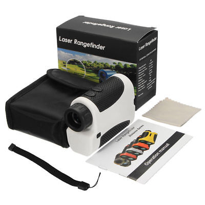 Golf Laser Range Finder WITH 6x Magnification 400 yards ranging performance
