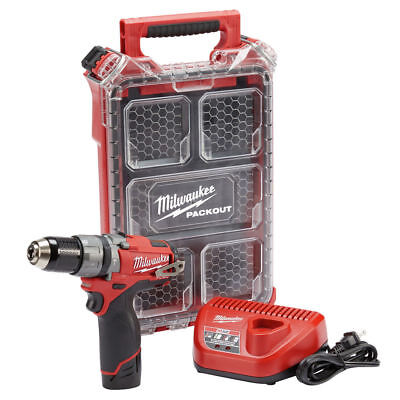Milwaukee M12 Hammer Drill 2404-21P New