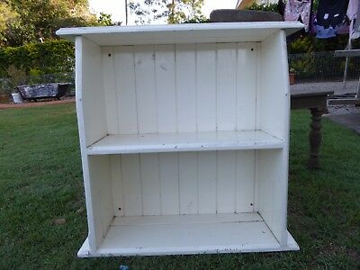Old Timber Bookcase Small