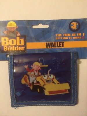BOB THE BUILDER WALLET For Kids 3+ NEW!!