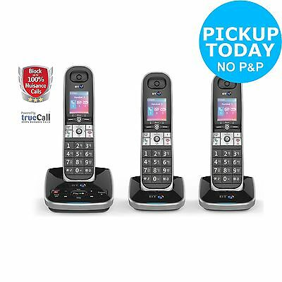 BT 8610 Cordless Telephone with Answer Machine - Triple