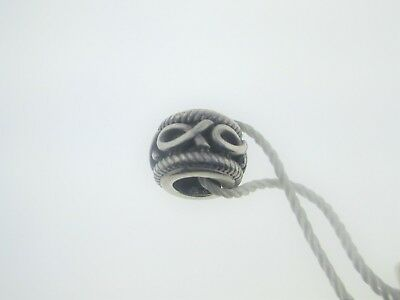 """Persona Sterling Silver /""""Oxidized Noodle/"""" Bead Charm H13119P1"""