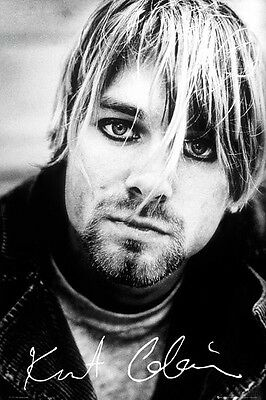 "Kurt Cobain ""Signature"" Poster  61cmx91cm  New Licensed"