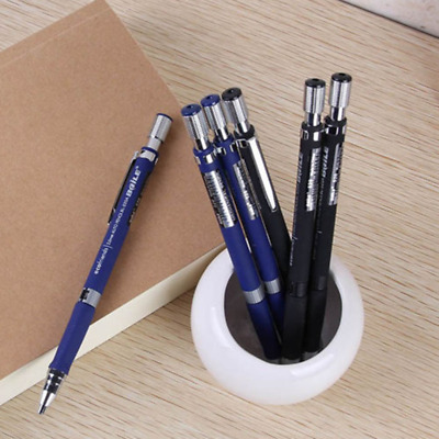 2mm 2B Lead Holder Automatic Mechanical Draughting Pencil + 5Pcs Leads