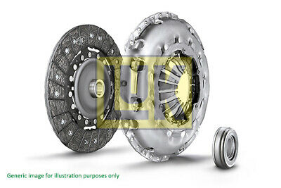 Clutch Kit 3pc Cover+Plate+Releaser fits NISSAN NAVARA D22 2.5D 2001 on LuK